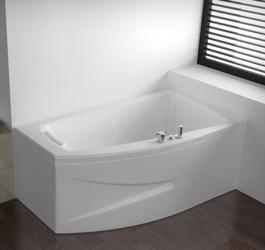 vente baignoire asym trique baln o kinedo pure design. Black Bedroom Furniture Sets. Home Design Ideas