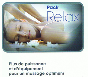 VENTE: PACK RELAX POUR SPA KINEDO A600 VERSION