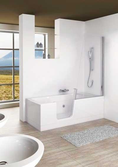 baignoire douche baln o. Black Bedroom Furniture Sets. Home Design Ideas