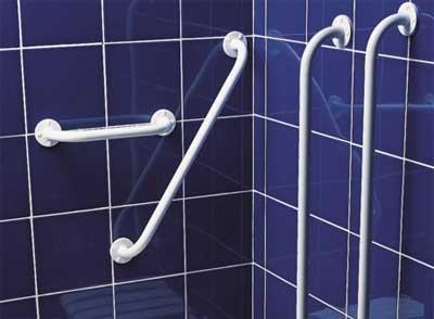 Poign es douche et barres de maintien douche sur sp cialiste douche et baignoire - Barre de maintien douche ...