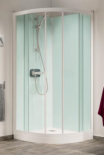 Accessoires pour douche kinedo sur sp cialiste douche et b - Cabine de douche sans bac ...