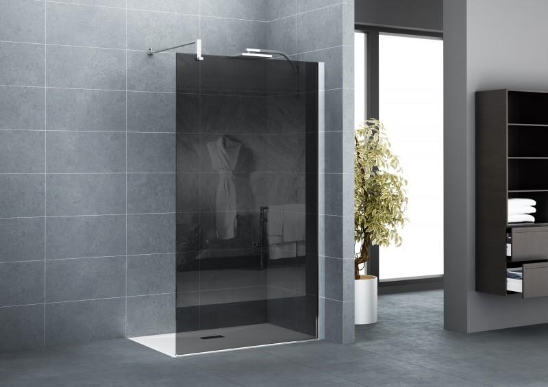 Parois et portes de douche sur sp cialiste douche et baign - Vitre pour douche italienne ...