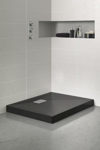receveur de douche ultra plat poser gamme kinecompact avec bonde extra plate intgre - Poser Un Receveur De Douche Extra Plat