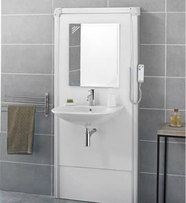 baignoire ouverte handicape cool douches with baignoire. Black Bedroom Furniture Sets. Home Design Ideas